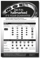 hallmarking showcard